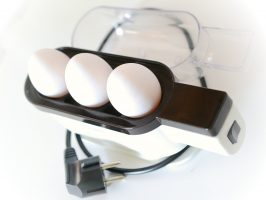 Eierkocher - Freilandhaltung Eier